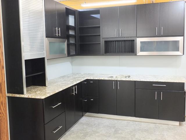 Milan Display transitional-kitchen