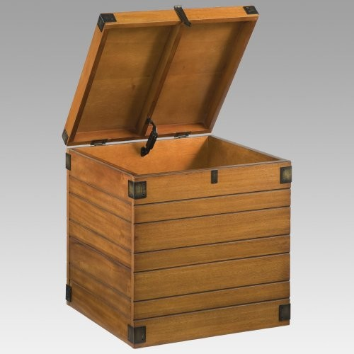 for Wooden box storage ideas