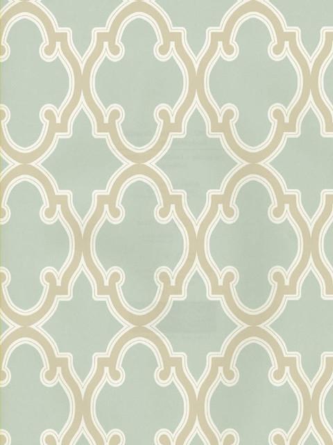 Moroccan trellis wallpaper mediterranean wallpaper for Moroccan style wallpaper