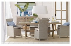 Cucina Pinot Grigio Dining Table in Dining Tables | Crate and Barrel