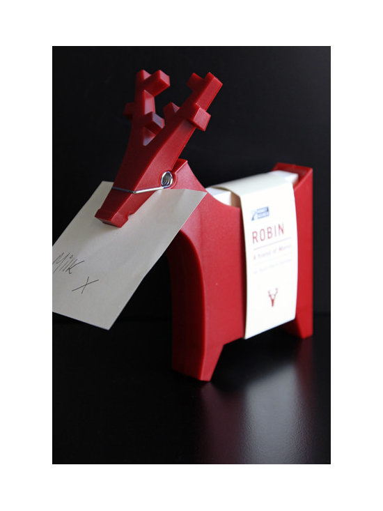 Reindeer Note Holder -