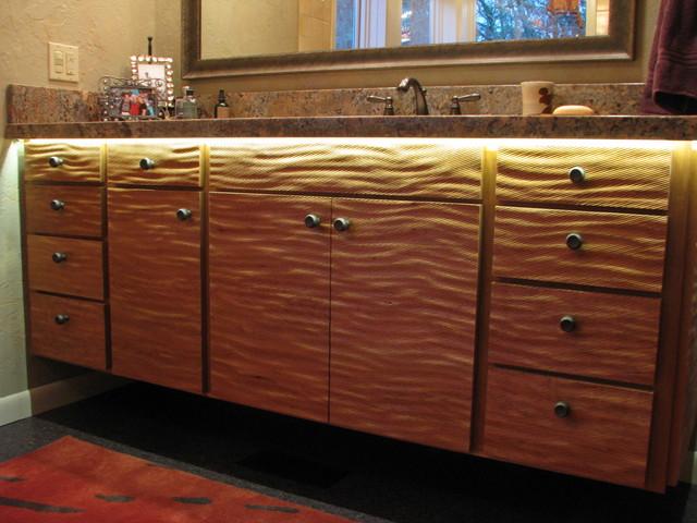 Cabinet Doors, Barn Doors, Partition Screens - Contemporary - Bathroom Vanities And Sink ...