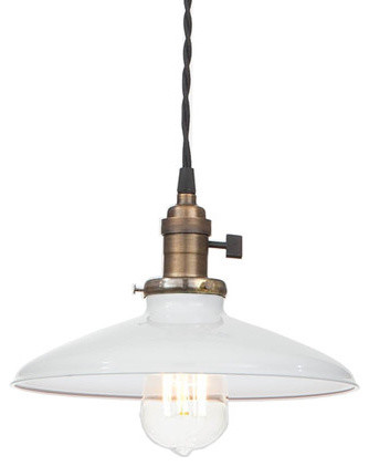 Edison Industrial Pendant Lamp, White modern pendant lighting