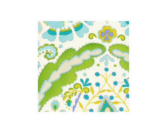 Teja Fabric, Blue -