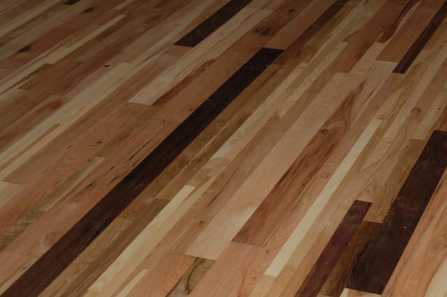 Sanded Wood Flooring Traditional Hardwood Flooring