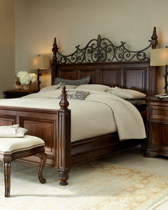 Lowell Bed traditional-beds