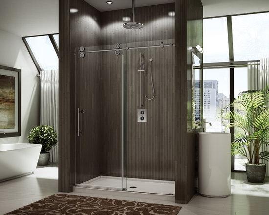 "Fleurco Kinetik In-Line 69""-71"" One-Sided Door and Panel KT69 - Sealed Stainless Steel Bearings"