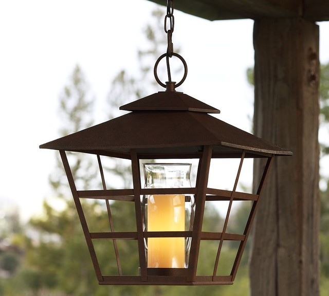 Santa Maria Pendant | Pottery Barn - Traditional - Outdoor ...