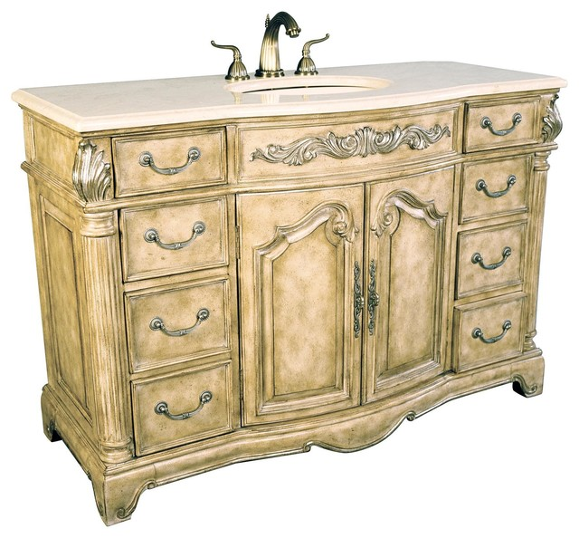 New Ambella Home Sink Chest Monticello traditional-bathroom-vanities-and-sink-consoles