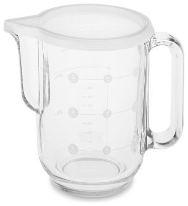 Glass Pitcher with Lid modern food containers and storage