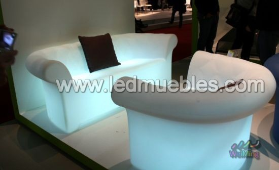 illuminated led sofa with remote control contemporary-sofas