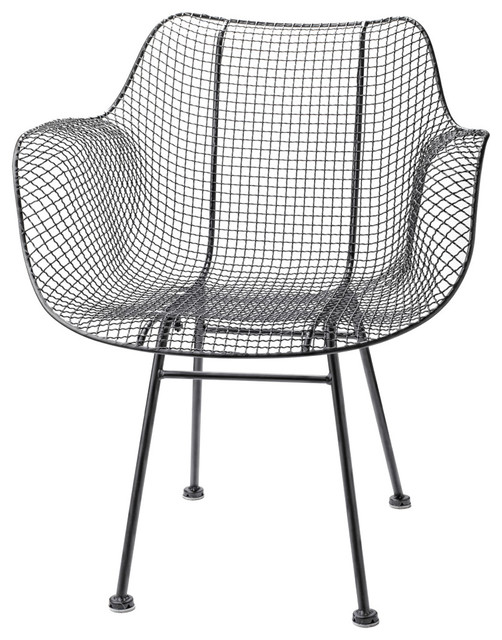 Wire Chair Modern Outdoor Lounge Chairs by Rejuvenation