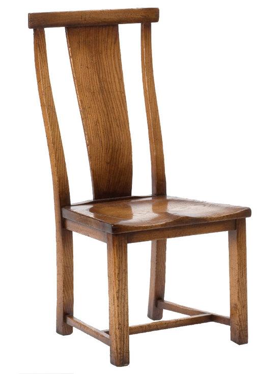 Curved Splat Dining Chair - Curved Splat Dining Chair