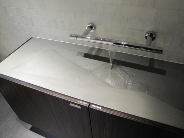 Concrete bathroom sink - modern - bathroom sinks - new york - by ...