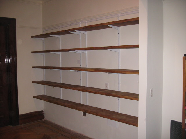 Custom Interior Shelving/Storage - Traditional - Display ...