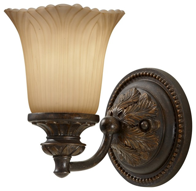 Feiss Bathroom Wall Sconces : Murray Feiss Emma Traditional Wall Sconce X-ZBG-10591SV - Traditional - Wall Sconces - by ...