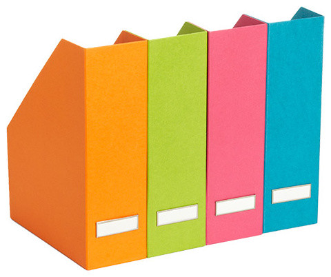 Bright Stockholm Magazine File - Contemporary - Desk Accessories - by The Container Store