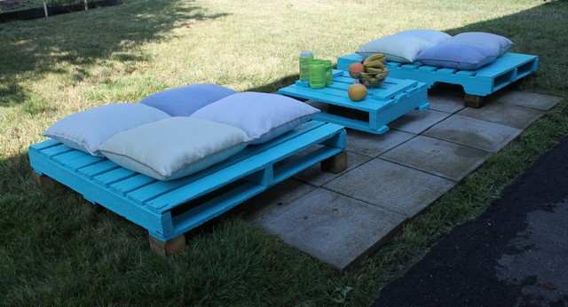 DIY Eclectic Patio Furniture And Outdoor