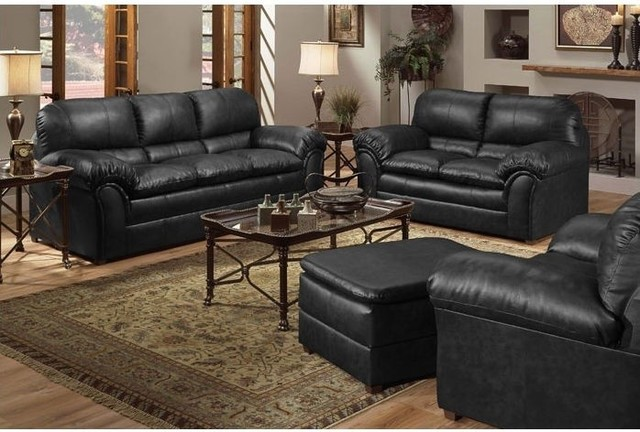 3 Piece Living Room Sofa Set: Geneva 3 Piece Sofa Set