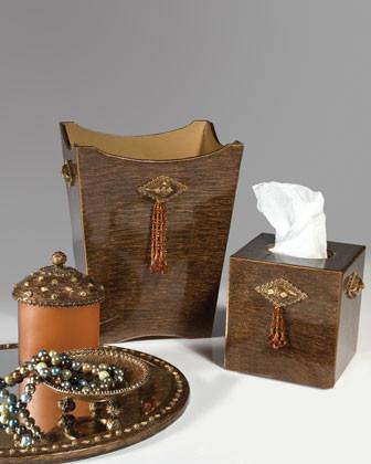 Bolshoi Covered Jar traditional-bathroom-accessories