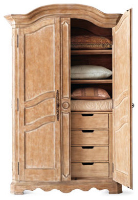 Tuscany Armoire - Traditional - Dressers - by Horchow