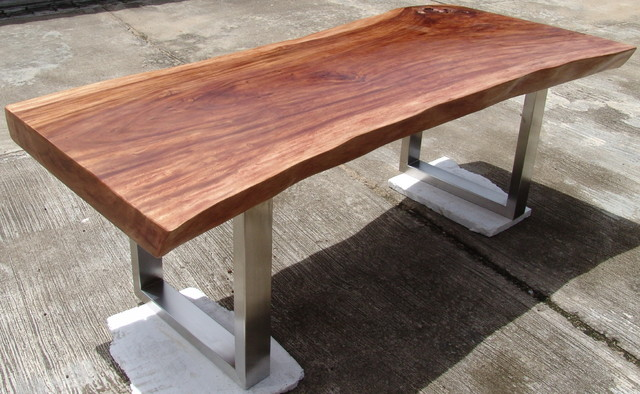 Dining Table Wood Slab Table