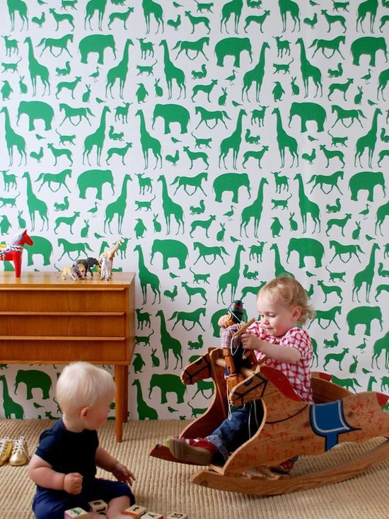Ferm Living Animal Farm Wallpaper - Ferm Animal Farm Wallpaper