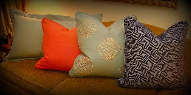 Custom Window Treatments, Pillows, Valances, Shades, etc