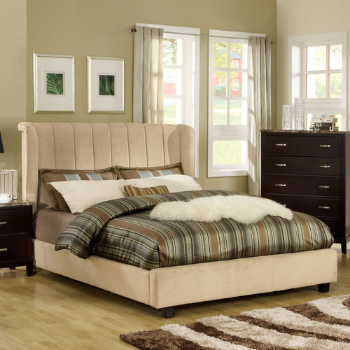 Milano Wingback Bed modern-beds