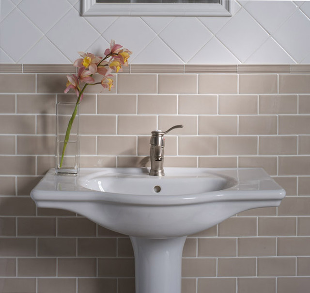 Handcrafted Ceramic Tile traditional-tile