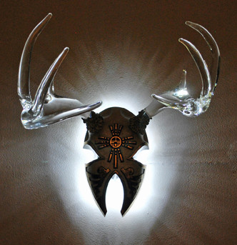 The Toudouze Sconce eclectic-home-theater