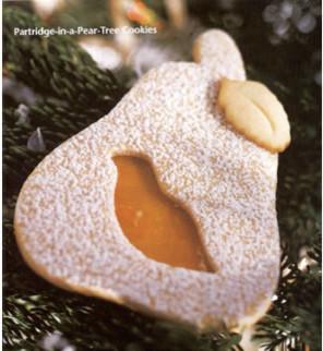 Cookie Cutter Partridge, Pear & Leaf modern-cookie-cutters