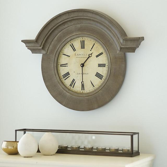 chateau wall clock traditional clocks by ballard designs