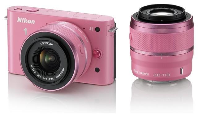 Nikon 1 J1 10.1 MP HD Digital Camera System contemporary-home-electronics