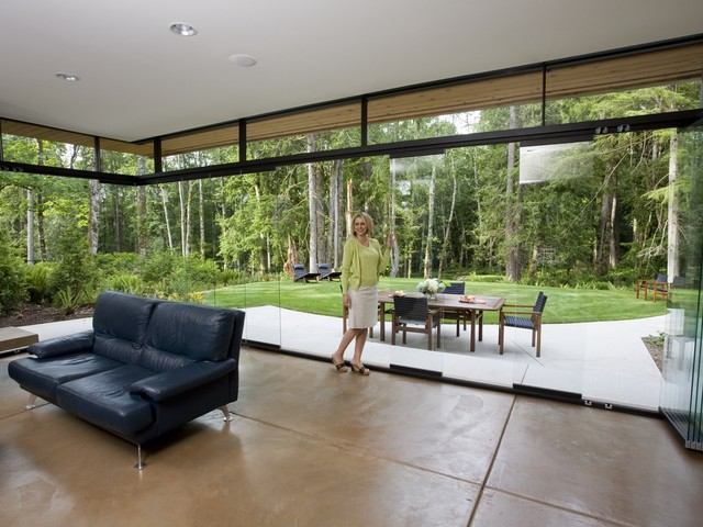 Nanawall sl25 for Nana sliding glass doors