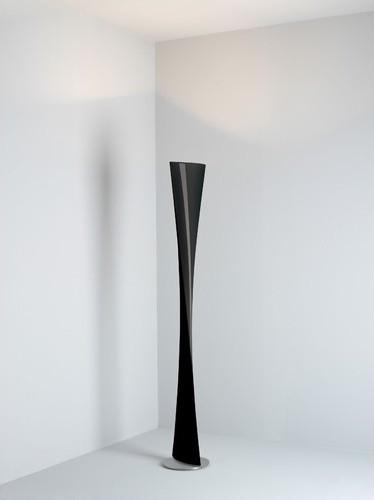 polaris floor lamp in black modern floor lamps by allmodern. Black Bedroom Furniture Sets. Home Design Ideas