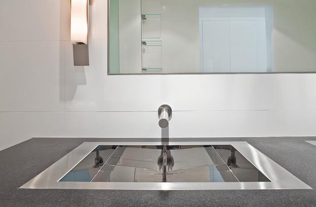 Franke Flush Mount Sink : Bathroom Lavs In A Flush Mount Installation Kitchen Sinks New York
