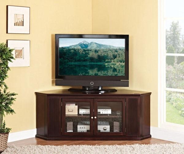 Acme Furniture - Matope Espresso Finish Corner TV Stand ...