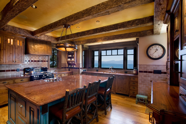 Lake Tahoe Traditional traditional kitchen