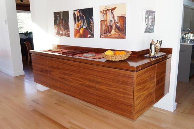black walnut buffet contemporary dining room boston by taylor