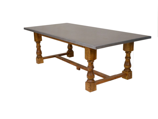 rustic industrial dining table eclectic dining tables houston