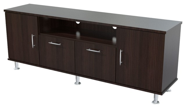 Elegant 60 Inches Flat-Screen TV Stand - Contemporary ...
