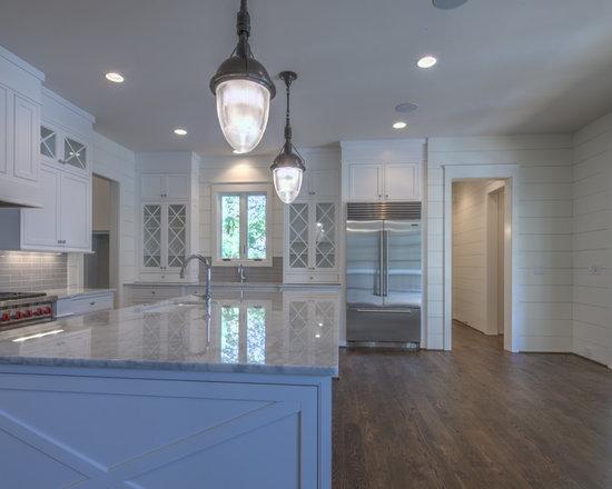 Bianco Carrara marble kitchen -