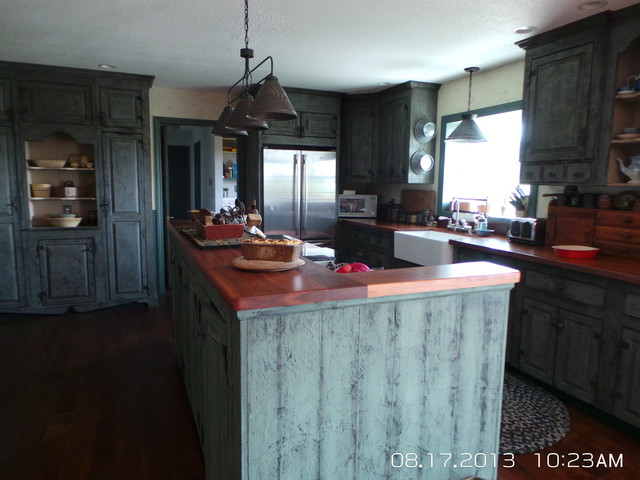 country primitive workshop cabinets cabinetry