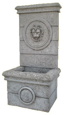 "Classical Wall Water Fountain, 59""H outdoor-fountains-and-ponds"