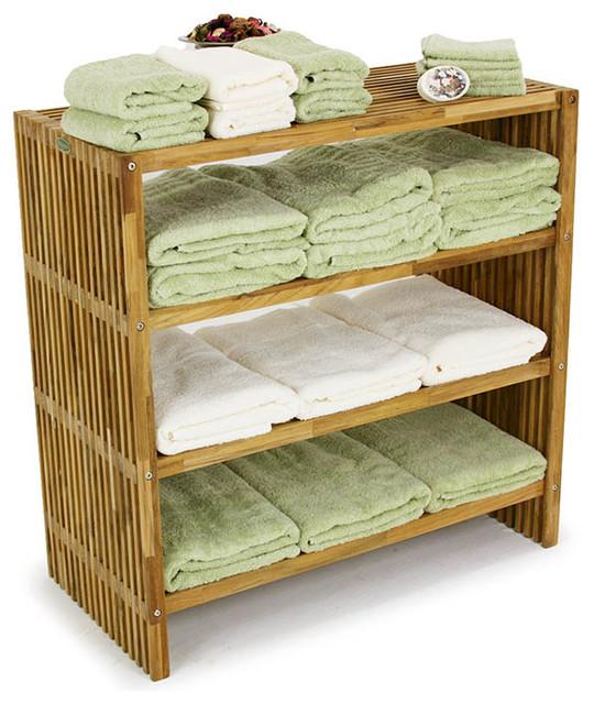 westminster teak towel shelf modern bookcases orange. Black Bedroom Furniture Sets. Home Design Ideas