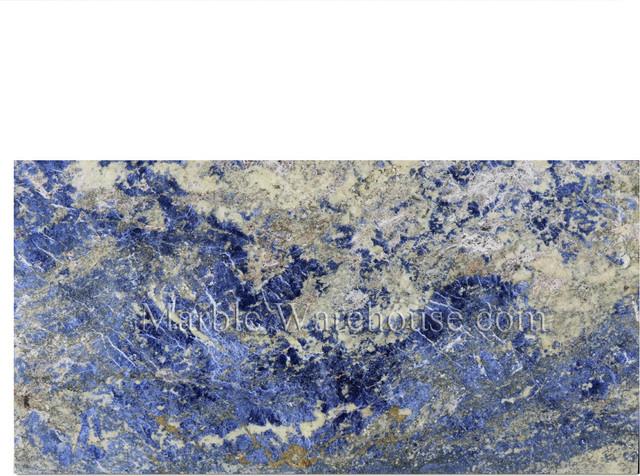 """Sodalite Blue Granite Tile 12""""x24"""""""