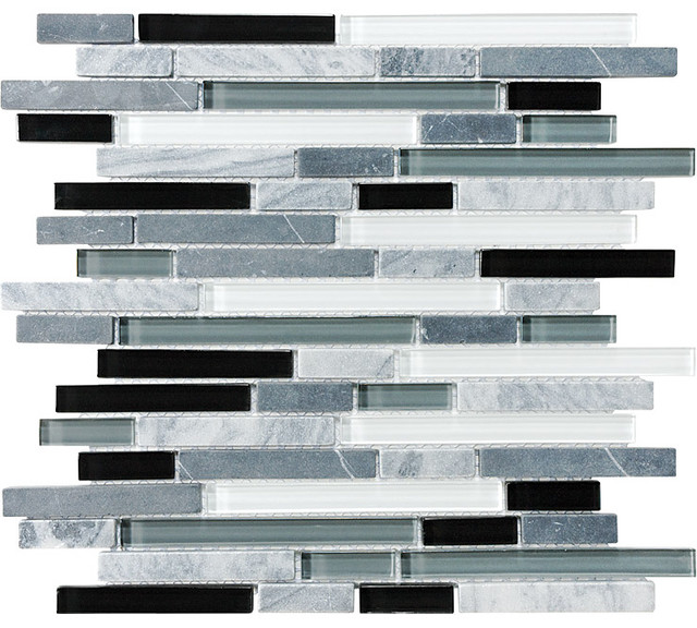 Midnight Linear | Anatolia Bliss Mosaic Tile tile