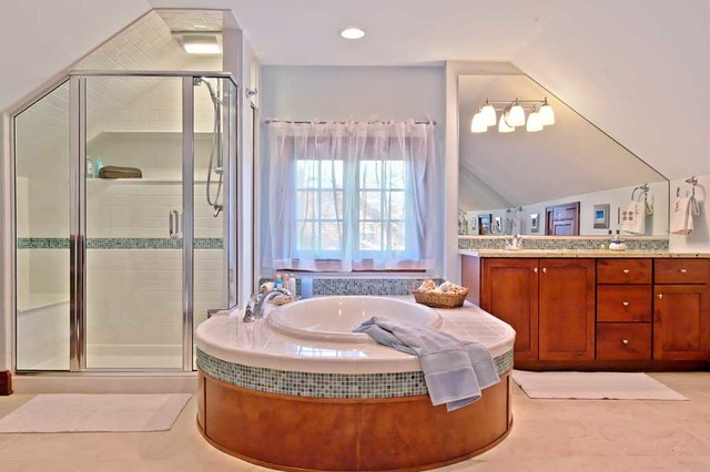 Attic Conversion Bathroom Vanities And Sink Consoles By Dave Fox Design Build Remodelers