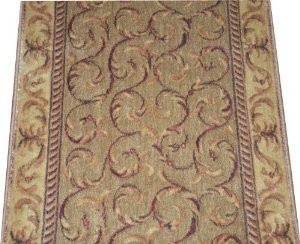 Dean Meadow Scrollwork Carpet Rug Hallway Stair Runner Purchase By The Foot